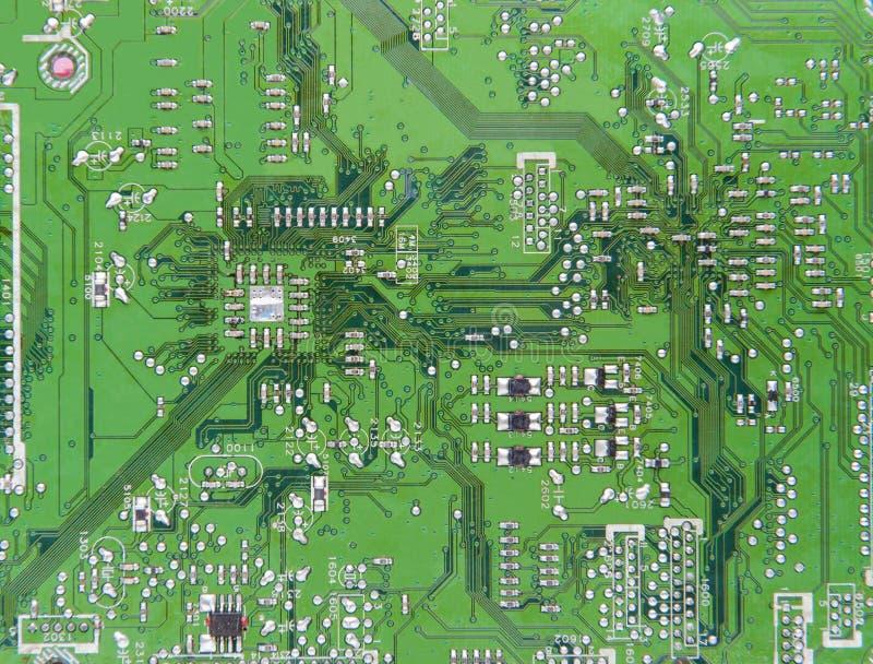 Fondo del extracto del circuito electrónico foto de archivo libre de regalías
