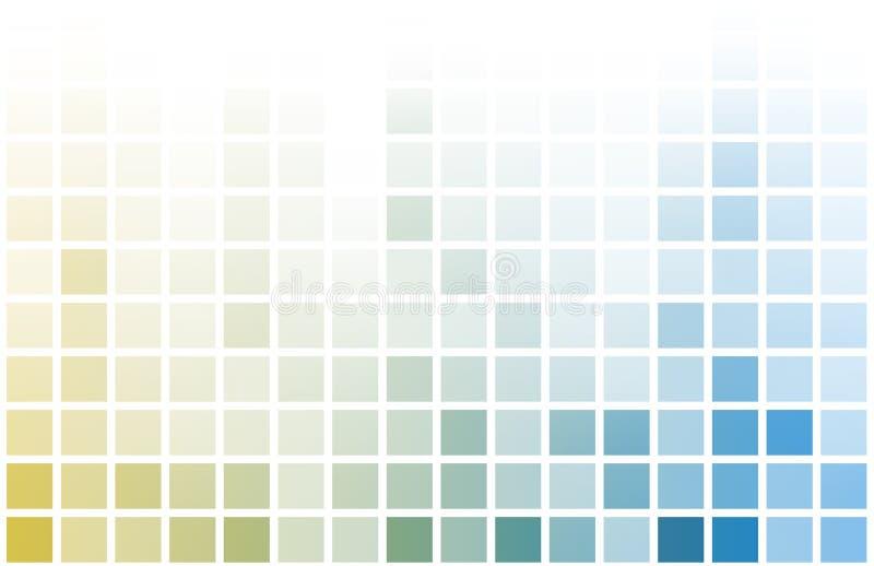 Fondo del extracto del juego del pixel del juego video stock de ilustración