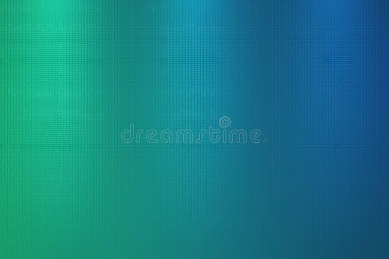 Fondo del extracto del verde de azules turquesa stock de ilustración