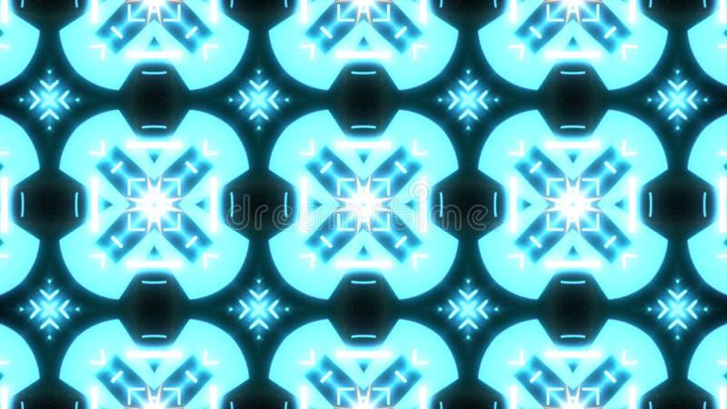 Fondo del extracto del diseñador con formas individuales que brillan intensamente imagen de archivo