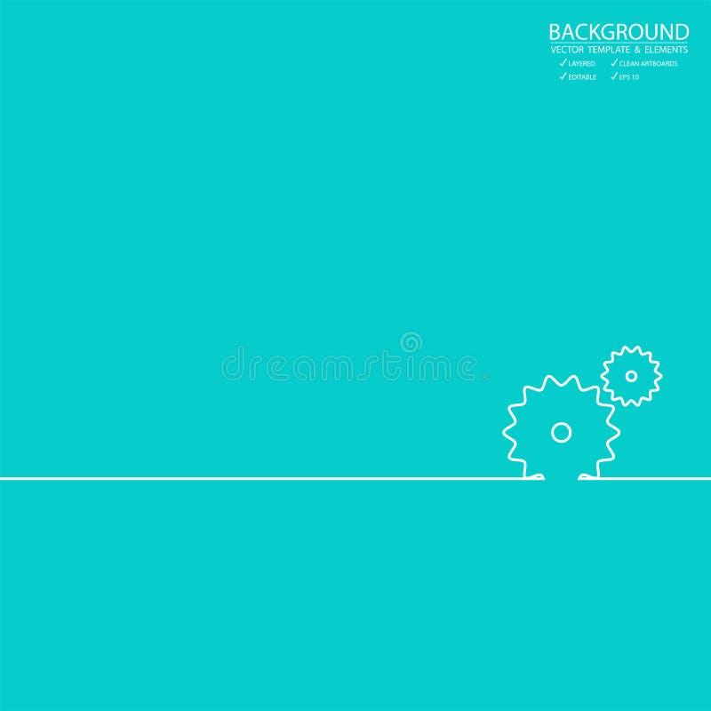 Fondo del extracto del icono del web del negocio y de las finanzas Diseño para los BU stock de ilustración
