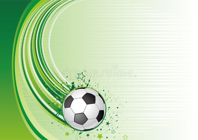 Fondo del f tbol ilustraci n del vector ilustraci n de for Fondos de futbol