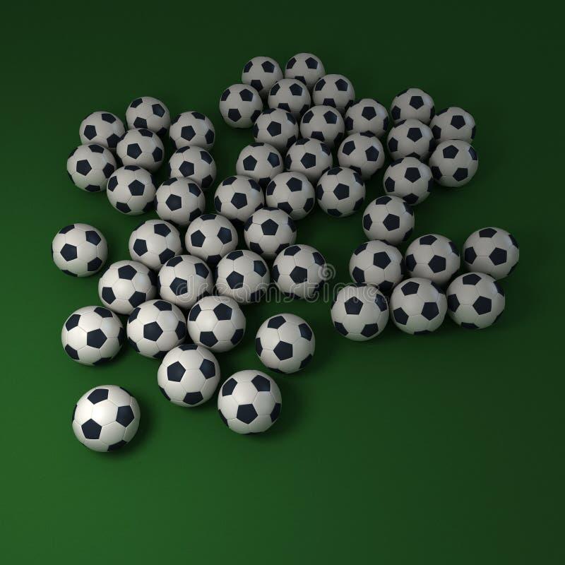 Fondo del fútbol libre illustration