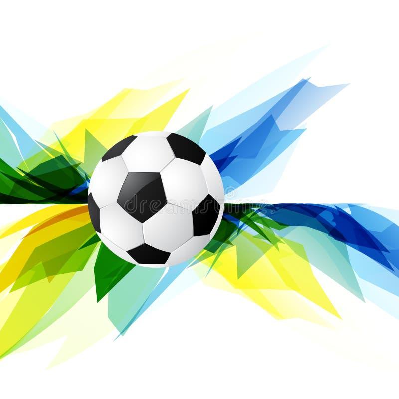 Download Fondo Del Fútbol Del Estilo Del Grunge Ilustración del Vector - Ilustración de acontecimiento, brazil: 41919528