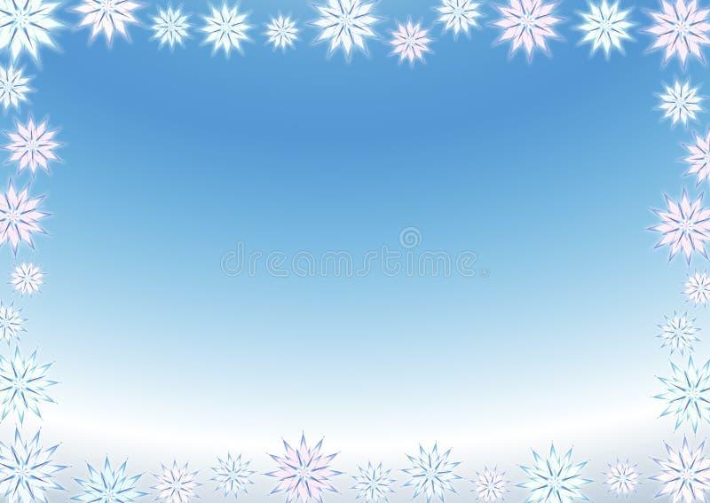 Fondo del fiocco di neve immagini stock