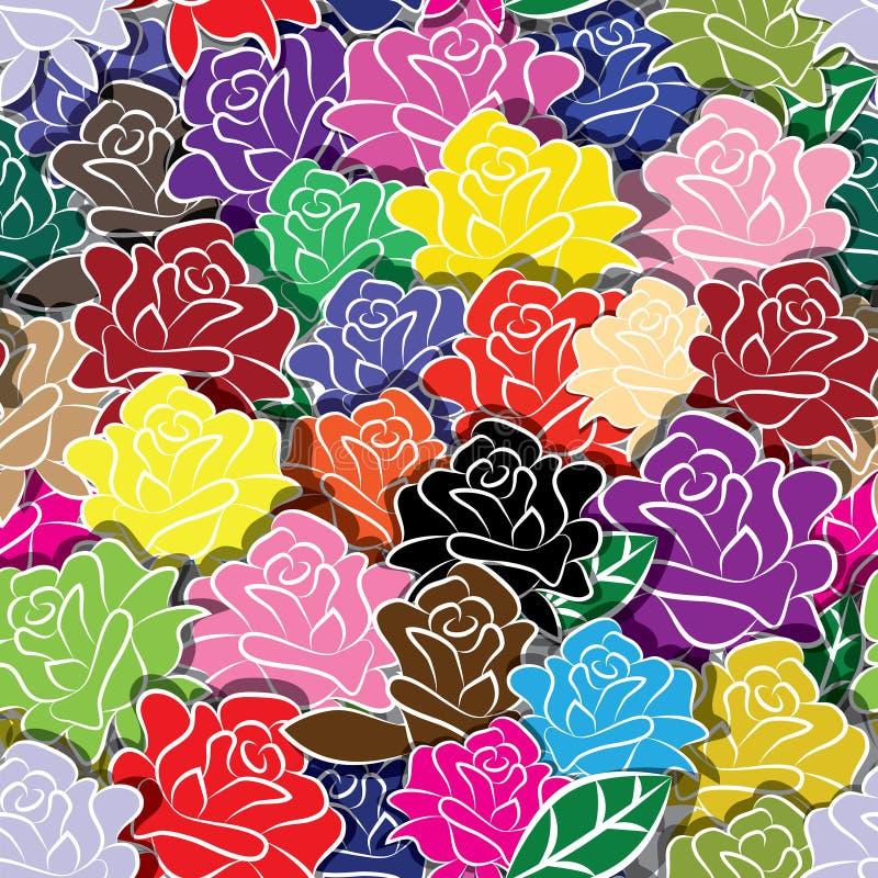 Fondo del fiore illustrazione di stock