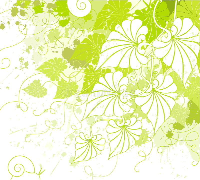 Fondo del follaje. ilustración del vector