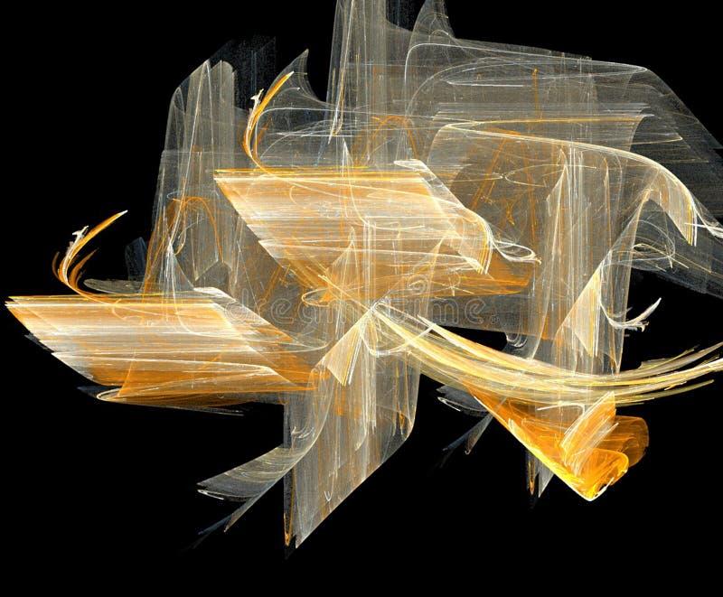 Fondo del fractal libre illustration