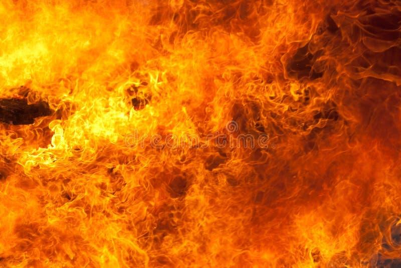 Fondo del fuego foto de archivo libre de regalías