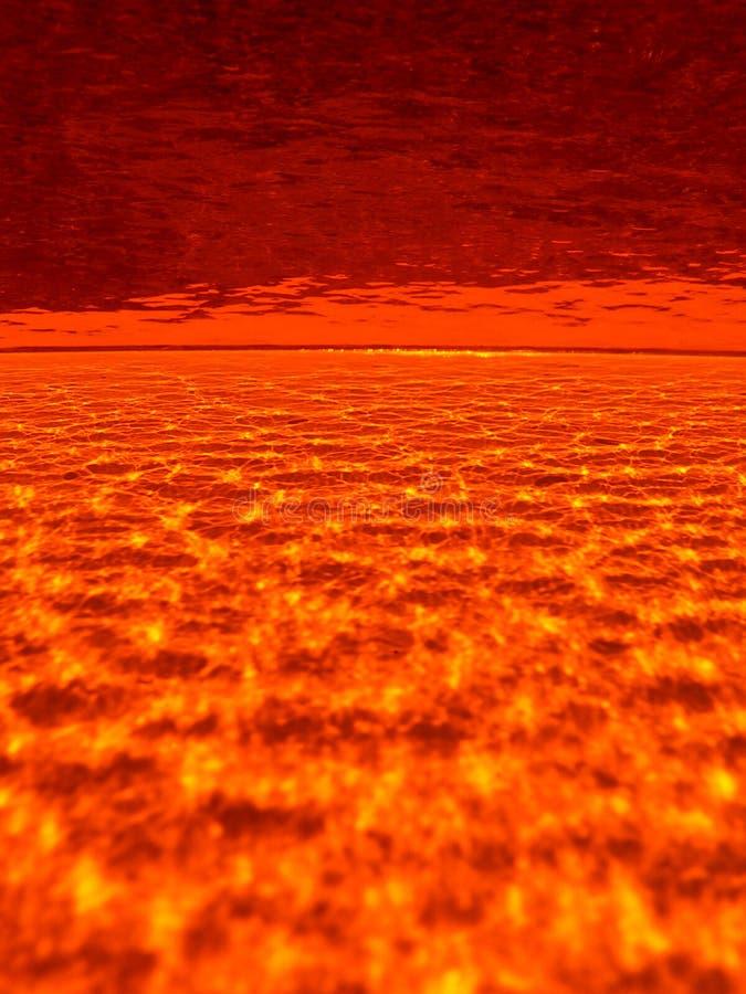 Fondo del fuego del infierno fotos de archivo