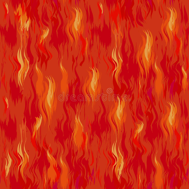 Fondo del fuego inconsútil libre illustration