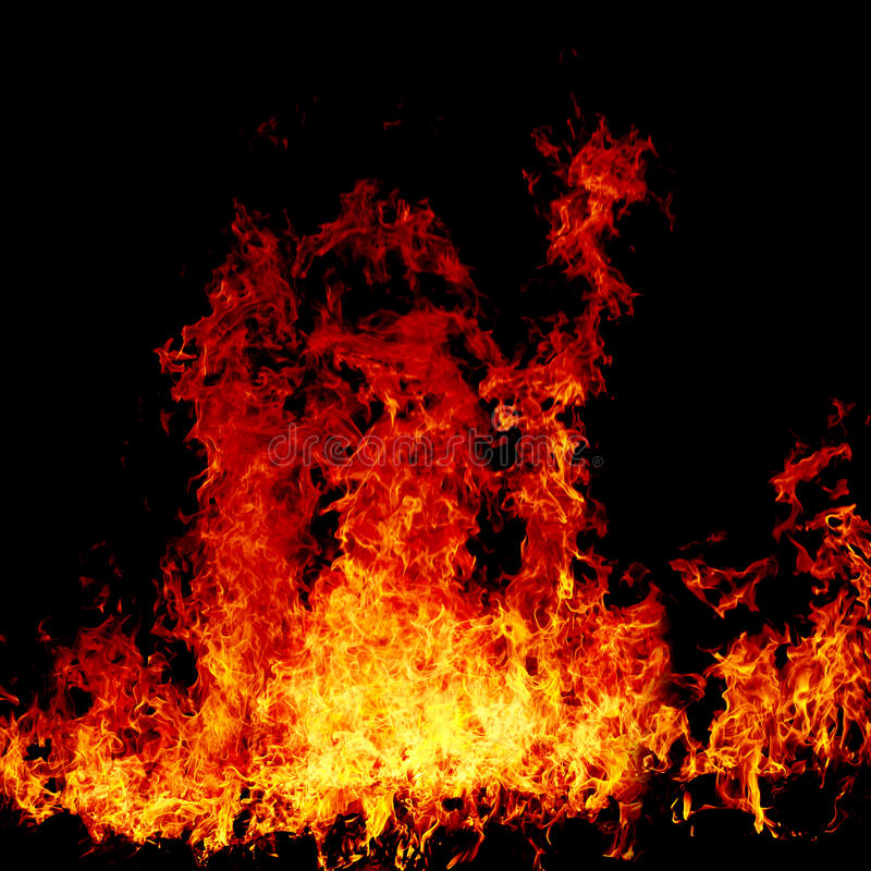 Fondo del fuoco immagini stock
