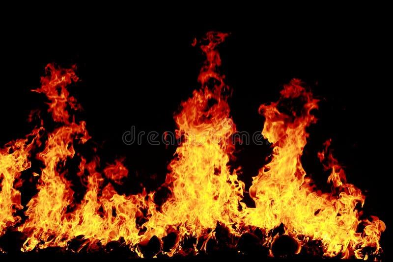 Fondo del fuoco fotografia stock