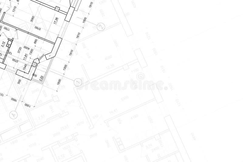 Fondo del gráfico arquitectónico fotografía de archivo
