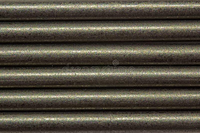 Fondo del grafito - fotografía macra del grafito para los lápices mecánicos foto de archivo libre de regalías