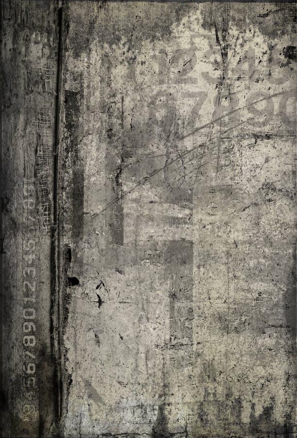 Fondo del gris de la vendimia ilustración del vector