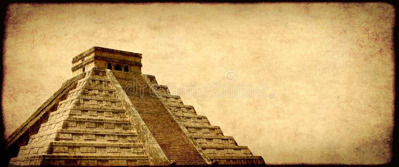 Fondo del Grunge con la textura de papel y la señal de México fotos de archivo