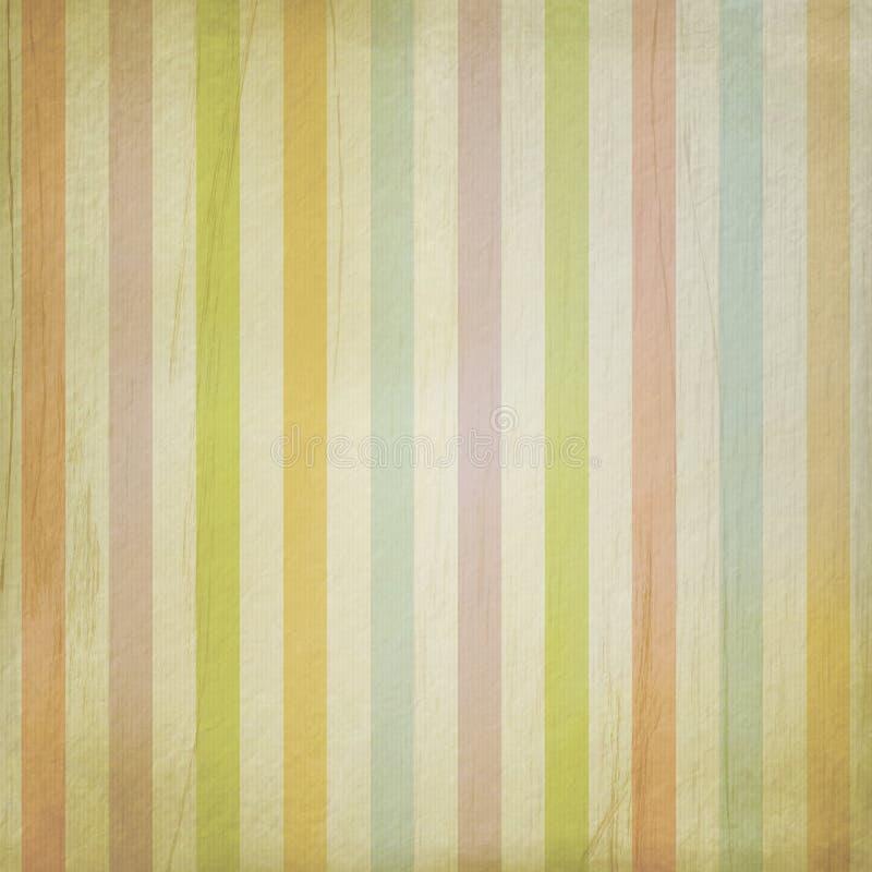 Fondo del Grunge con las rayas en colores pastel ilustración del vector