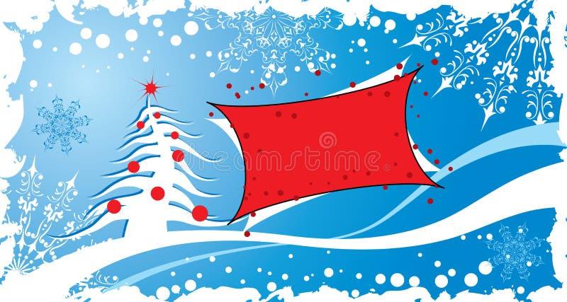 Fondo del grunge de la Navidad, vector libre illustration