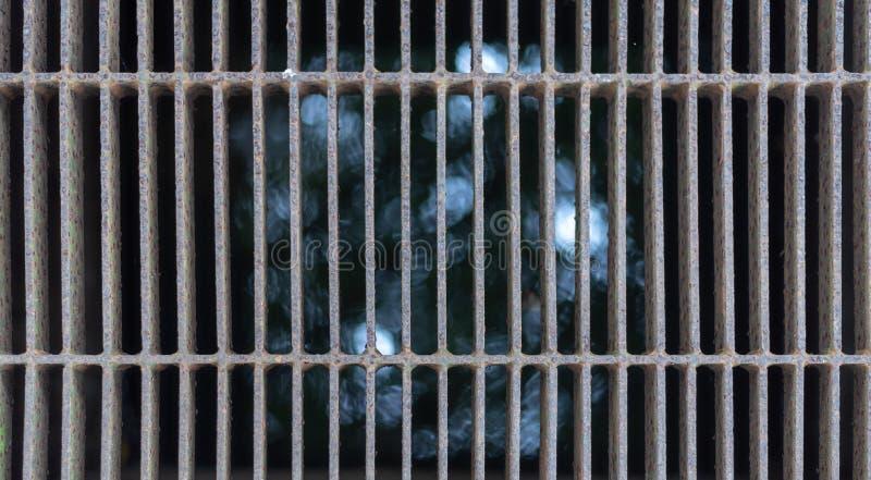 Fondo del Grunge de las texturas metálicas de la corrosión del moho con las líneas modelo foto de archivo libre de regalías