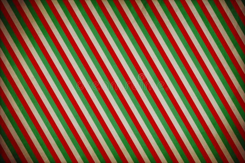 Fondo del Grunge del modelo de la Navidad ilustración del vector