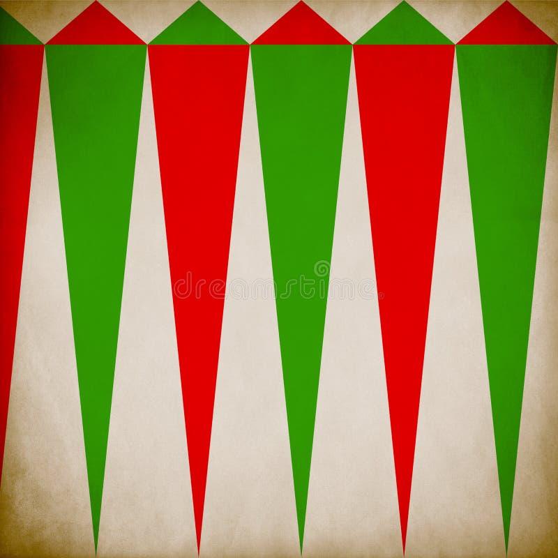 Fondo del Grunge del modelo de la Navidad fotos de archivo