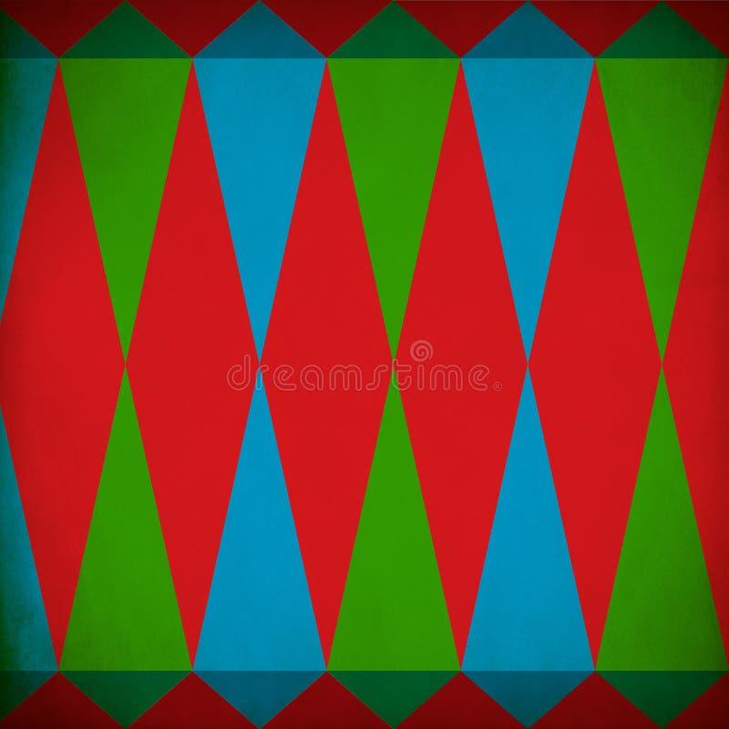 Fondo del Grunge del modelo de la Navidad fotos de archivo libres de regalías