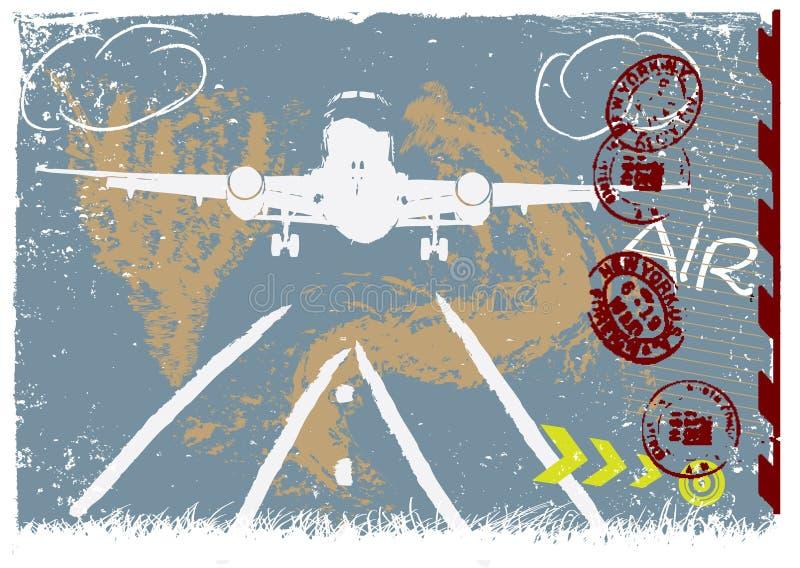 Fondo del grunge del vector ilustración del vector