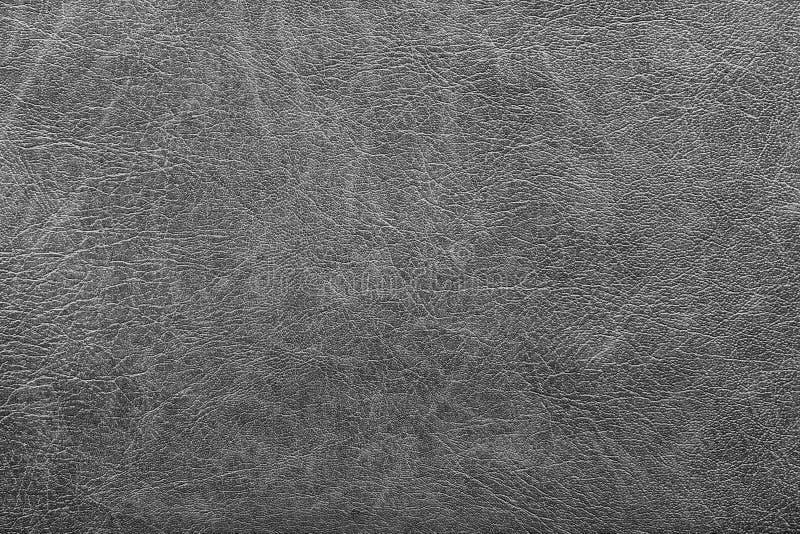 Fondo del grunge gris del cuero del vintage foto de archivo