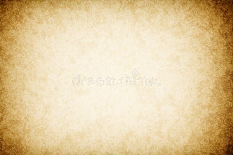 Fondo del Grunge, papel, textura del papel beige viejo stock de ilustración