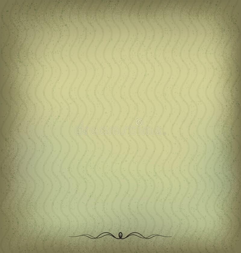 Fondo del Grunge, fondo retro del vintage con sucio libre illustration