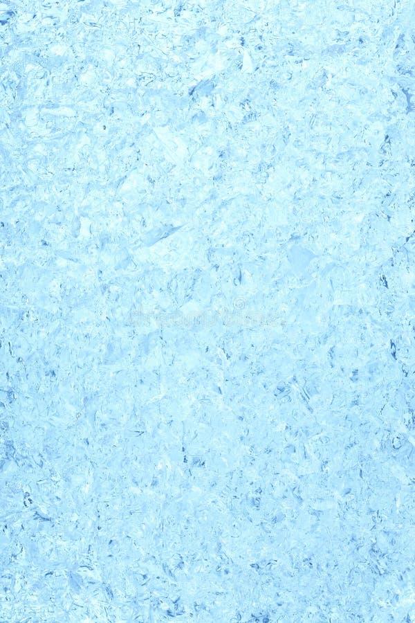 Fondo del hielo en azul imagen de archivo libre de regalías