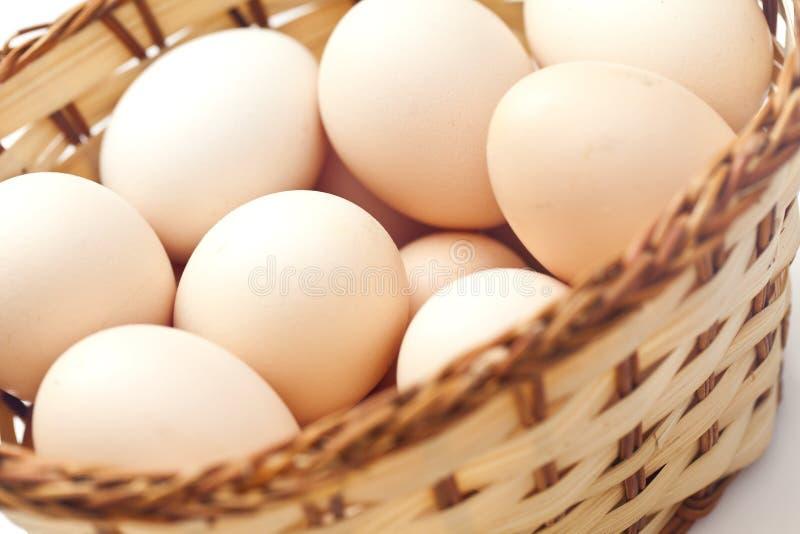 Fondo del huevo marrón del pollo fotos de archivo libres de regalías