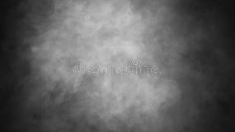 Fondo del humo del misterio Capas abstractas de la textura de la niebla para el copyspace Elemento del dise?o fotografía de archivo