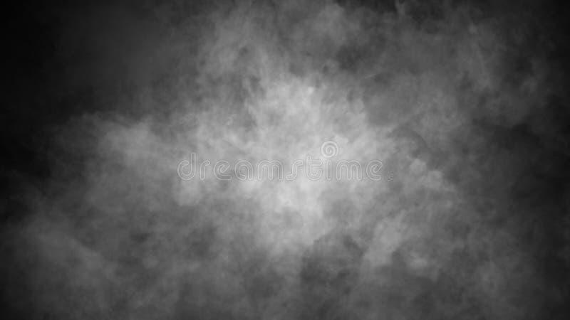 Fondo del humo del misterio Capas abstractas de la textura de la niebla para el copyspace Elemento del dise?o imagenes de archivo