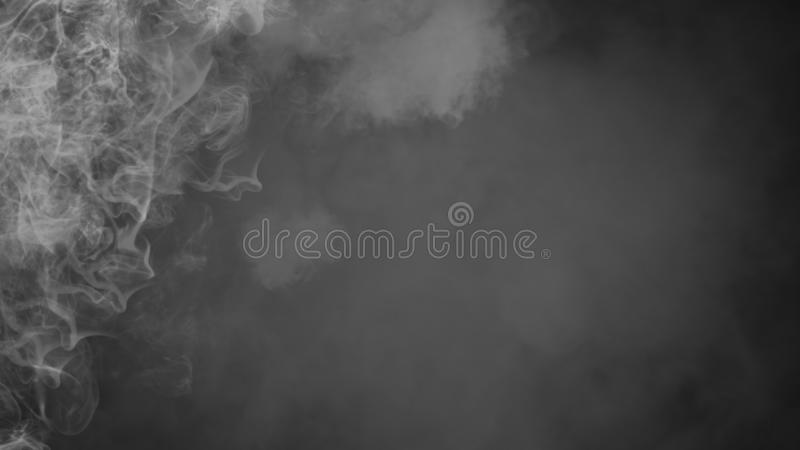 Fondo del humo del misterio Capas abstractas de la textura de la niebla para el copyspace Elemento del dise?o imagen de archivo libre de regalías