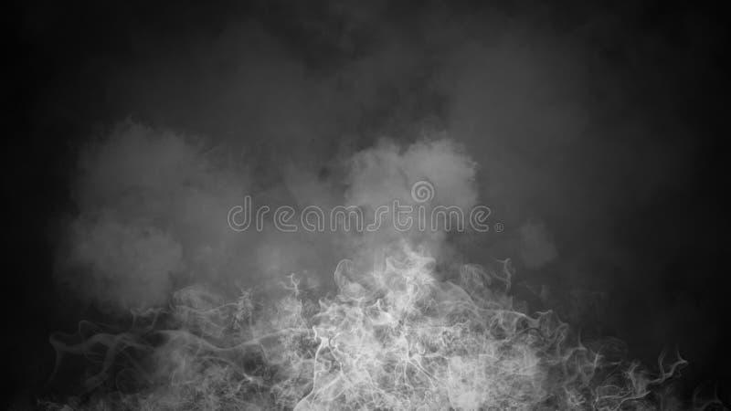 Fondo del humo del misterio Capas abstractas de la textura de la niebla para el copyspace Elemento del dise?o foto de archivo