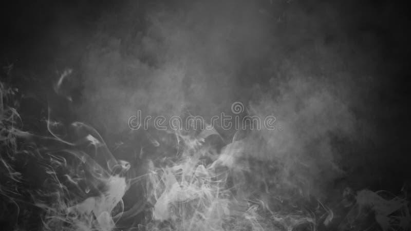 Fondo del humo del misterio Capas abstractas de la textura de la niebla para el copyspace Elemento del dise?o fotos de archivo