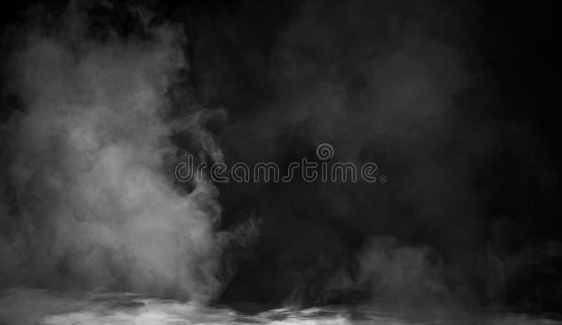 Fondo del humo del misterio Textura abstracta de la niebla para el copyspace imágenes de archivo libres de regalías