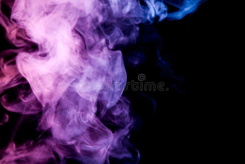 Fondo del humo del vape foto de archivo libre de regalías