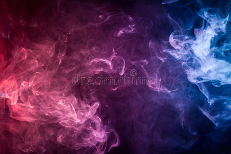 Fondo del humo del vape foto de archivo