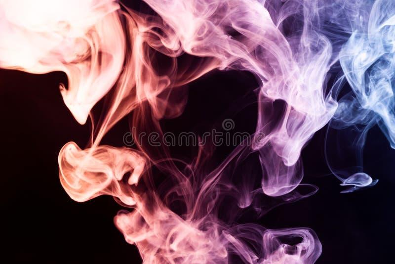 Fondo del humo del vape imagen de archivo libre de regalías