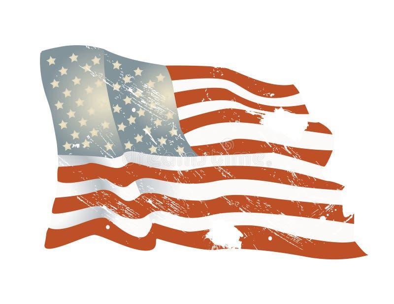 Fondo de la bandera americana foto de archivo libre de regalías
