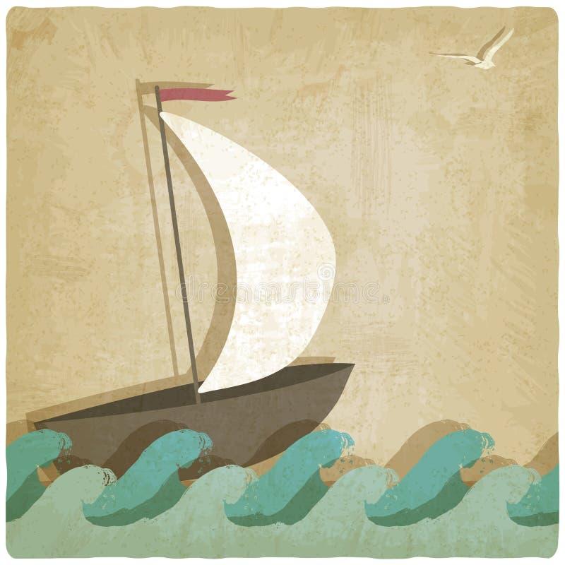 Fondo del infante de marina del vintage ilustración del vector