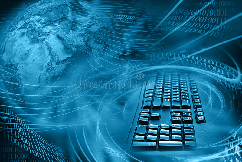 Fondo del Internet stock de ilustración
