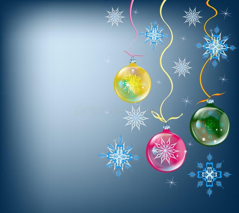 Fondo del invierno de los días de fiesta libre illustration