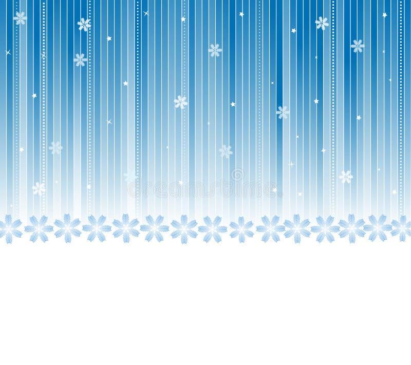 Fondo del invierno del vector ilustración del vector