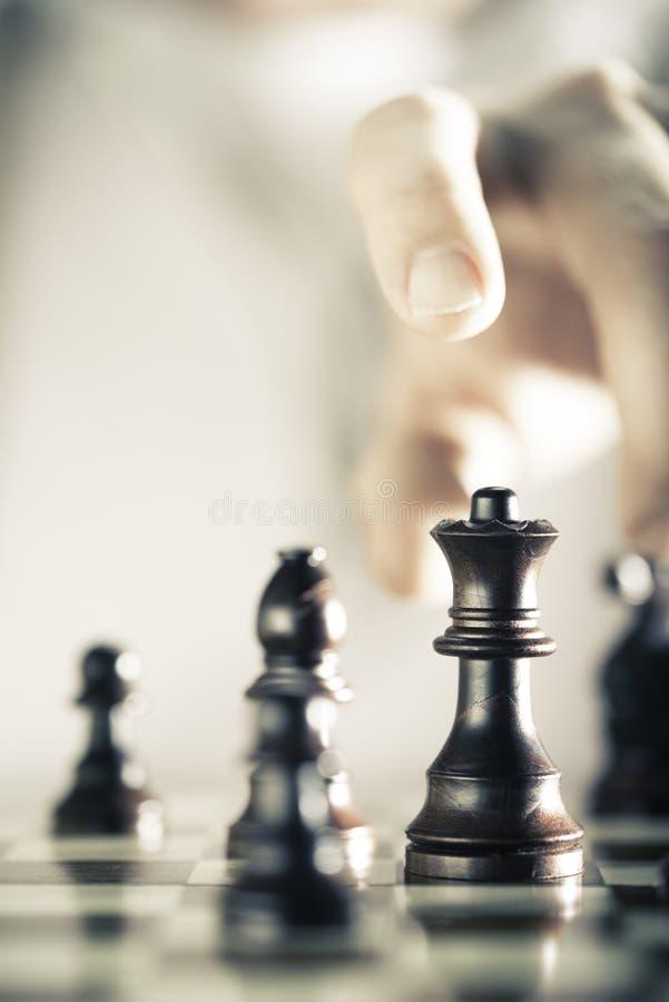 Fondo del juego de ajedrez foto de archivo libre de regalías
