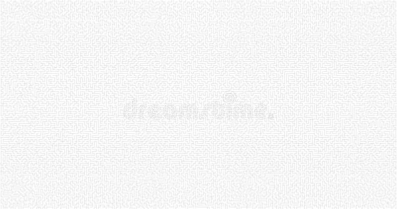 Fondo del laberinto Maze Game Concept Concepto abstracto del fondo de la log?stica Concepto de la trayectoria del negocio Ilustra libre illustration