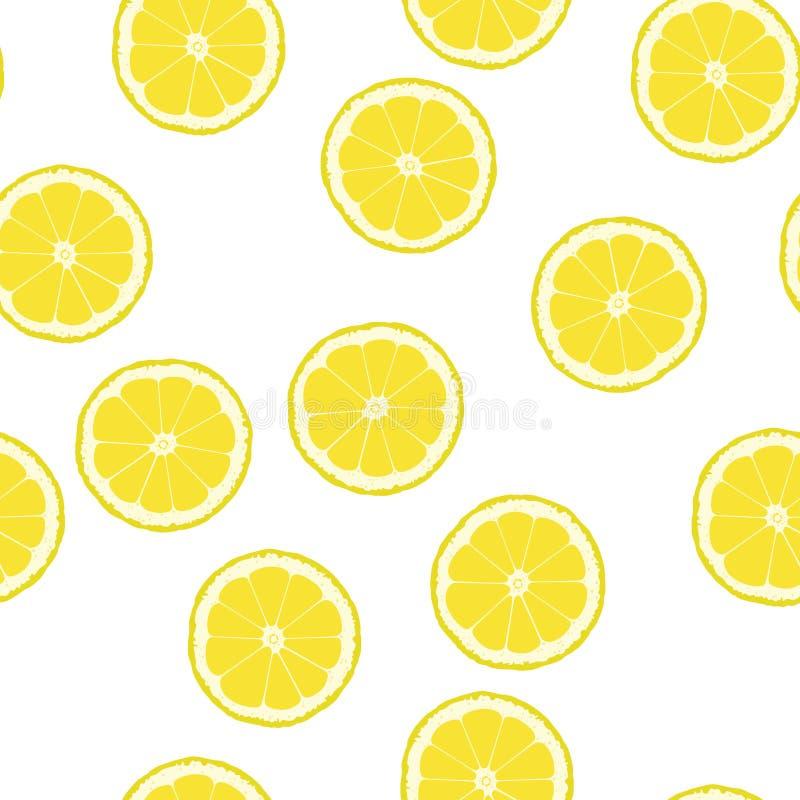 Fondo del limone illustrazione di stock